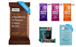 Prime Day Deals: Save 35% on RXBAR, KIND bars & Health Warrior bars
