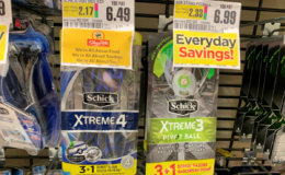 Schick Disposable Razors & Skintimate/Edge Shave Gel Just $0.99 at ShopRite {7/21}