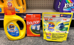 Tide Simply Detergent, Pods and Bounce Sheets Only $1.94 at CVS!