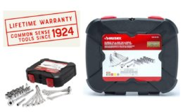Husky 1/4 in. and 3/8 in. Drive Universal Mechanics Tool Set (33-Piece) $12.49 (Reg.$24.97)