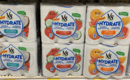 Update! 4 FREE+ $2.00 Money Maker of V8+Hydrate 6pk Juice Drinks at ShopRite! {Rebates}