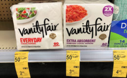 Walgreens Shoppers - $1.25 Vanity Fair Napkins!
