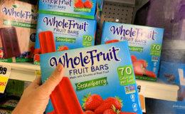 FREE Whole Fruit Frozen Fruit Bars at ShopRite! {Rebate}