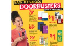 School Supply Deals at Office Depot/OfficeMax - Sharpie 5 Pk $1, Comp. Books $.33, Highlighters $.79 + More!