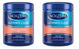 90-Ct Noxzema Ultimate Clear Anti Blemish Pads just $1.15 each + Free Store Pickup