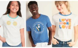 Old Navy $5 Graphic Tees for the Family + 50% Off Jeans