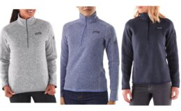 Women's Patagonia Better Sweater Quarter-Zip Pullover $48.93 (Reg. $99)