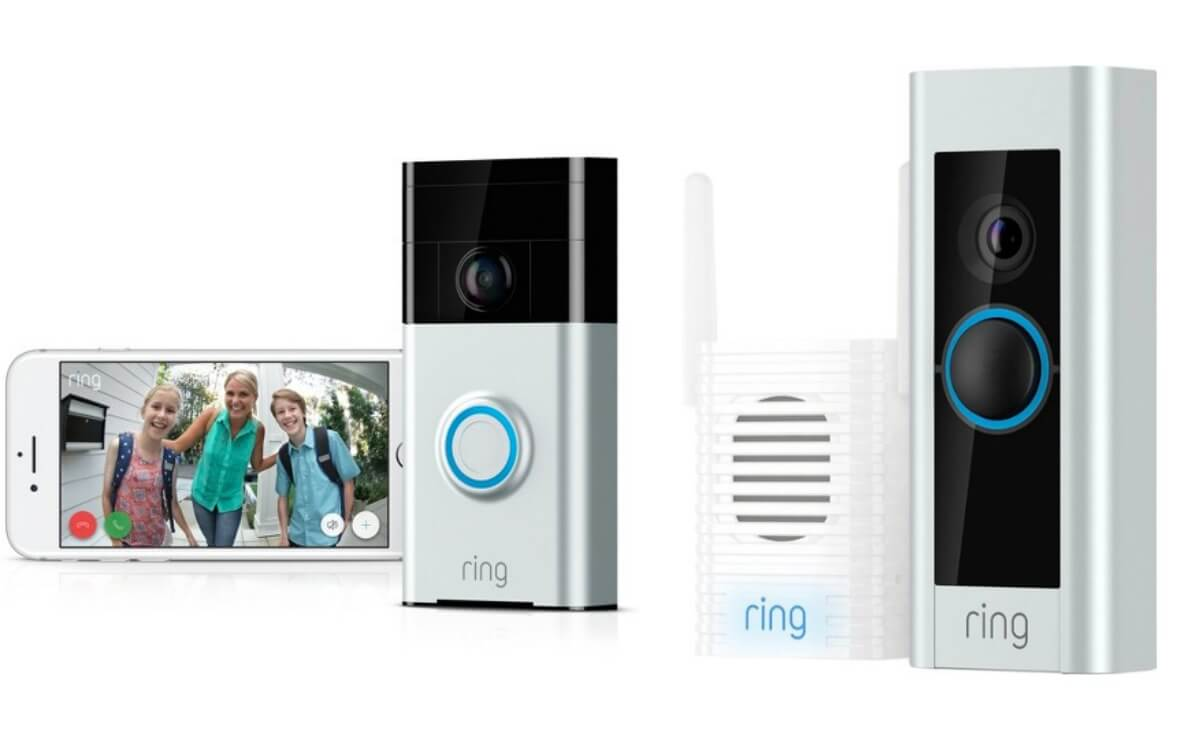 Ring WiFi Smart Video Doorbell With FREE Echo Dot From