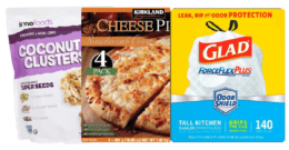Costco In-Warehouse Hot Buys: Kirklands Pizza, Glad Trash Bags & more!