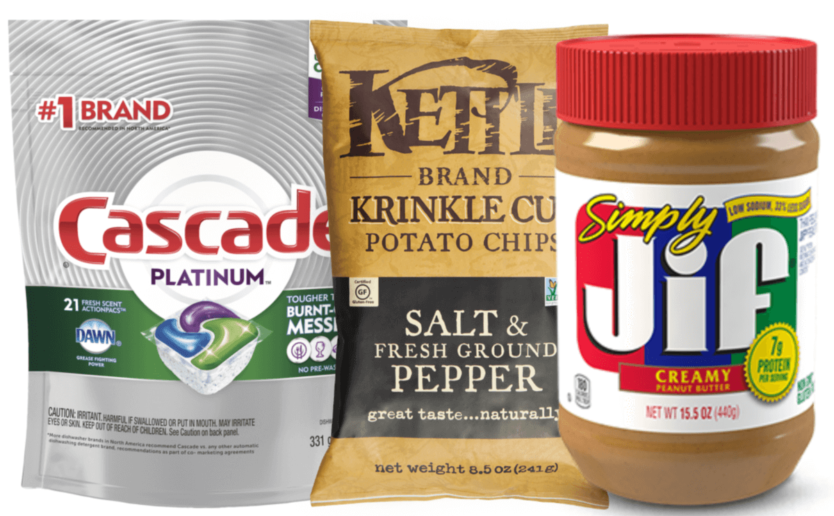 picture relating to Cascade Coupons Printable identify Todays Greatest Fresh Coupon codes - Help you save upon Jif, Cascade, Smuckers