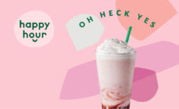 50% off Frappuccinos at Starbucks {Today starting at 3pm!}