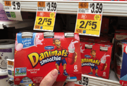 Danimals Smoothies 6pack only $1.50 at Stop & Shop