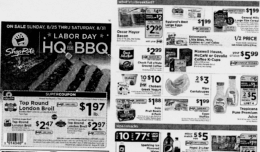ShopRite Preview Ad for the week of 8/25/19