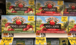 Apple & Eve Juice Packs only $1.50 at Stop & Shop {Catalina Deal}