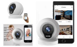 MobiCam Multi-Purpose, Wi-Fi Video Baby Monitor $29.99 (Reg.$49.99) at Walmart!