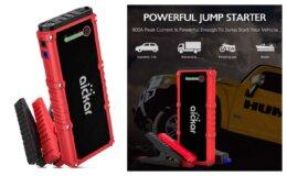 50% off Code - Aickar 800A Peak 18000mAh Car Jump Starter