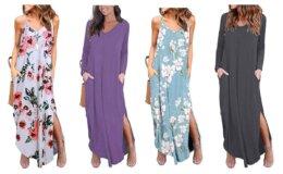 Hot Deal on Kyerivs Women's Casual Loose Dress on Amazon!