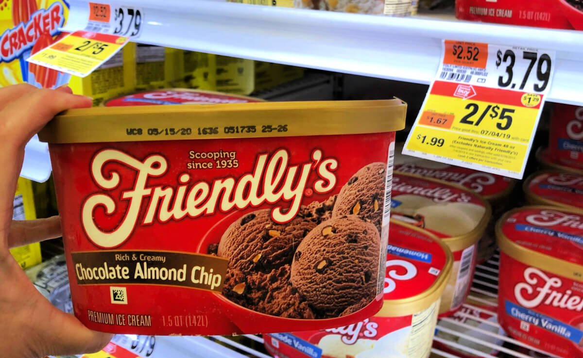 graphic relating to Friendly's Ice Cream Coupons Printable Grocery called Friendlys Ice Product Merely $1.99 at Conclusion Keep Local No