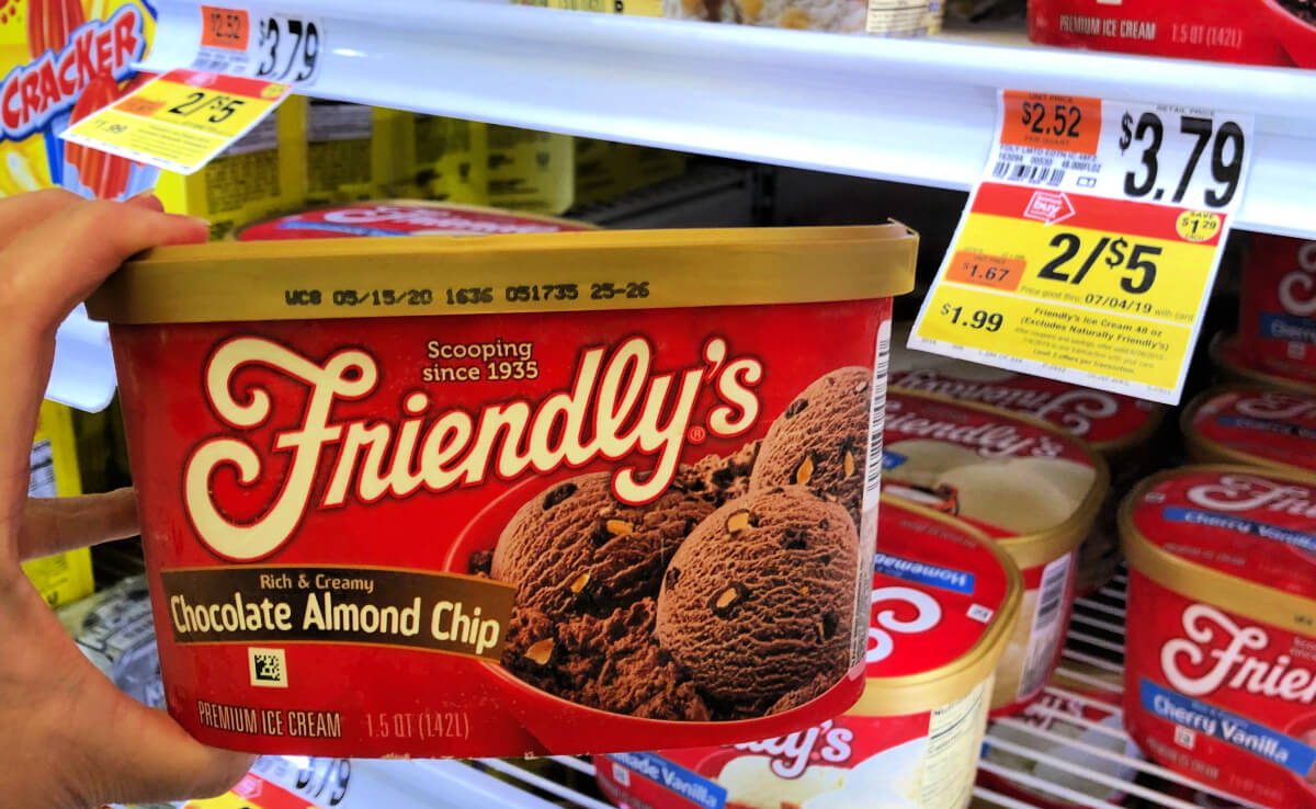 photograph about Friendly's Ice Cream Coupons Printable Grocery referred to as Friendlys Ice Product Just $1.99 at Finish Retailer Local No