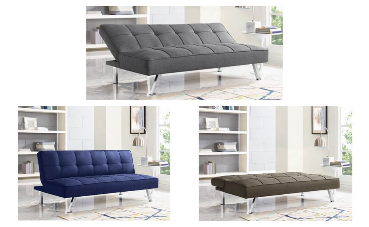 Serta Chelsea Convertible Sofa Futon $109.99 Shipped Reg ...