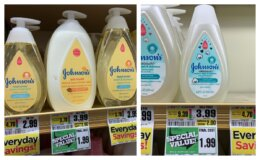 Johnson's Baby Products as Low as FREE at ShopRite!