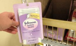 FREE Johnson's Baby Cotton Saftey Swabs at ShopRite!