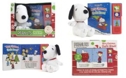 79% off Peanuts Merry Christmas, Charlie Brown! Board Book - Snoopy Plush Included
