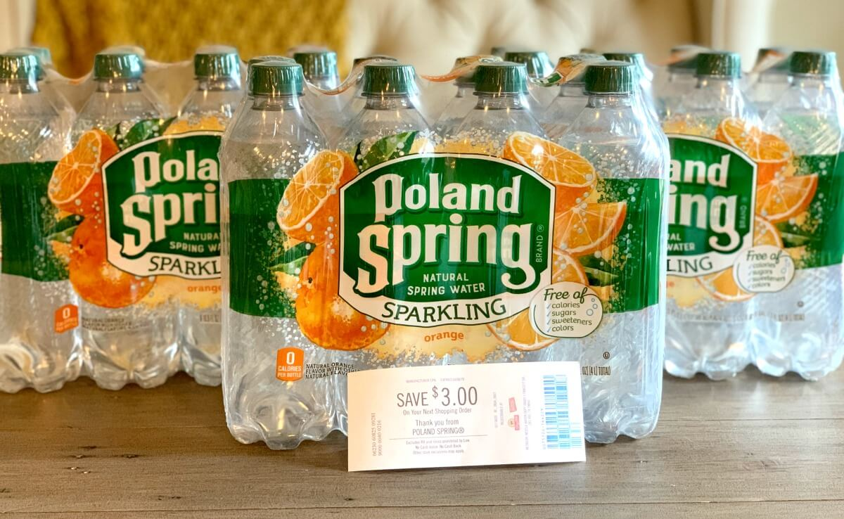 Up to 3 FREE Poland Spring Sparkling Water Multipacks at