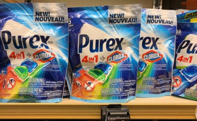 Today Only ! Purex Liquid & 4 in 1 Packs Laundry Detergent Just $0.99 at ShopRite!