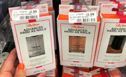 Money Maker + Up to 2 FREE Sally Hansen Hard as Nails at CVS! {Starting 8/18}