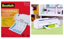 Scotch Thermal Laminating Pouches 100 Count $10.54 (Reg.$18.98) at Walmart!
