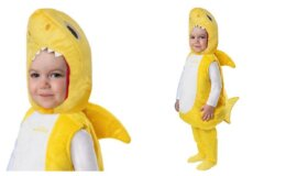 Infant Baby Shark Costume With Sound Chip $27.99
