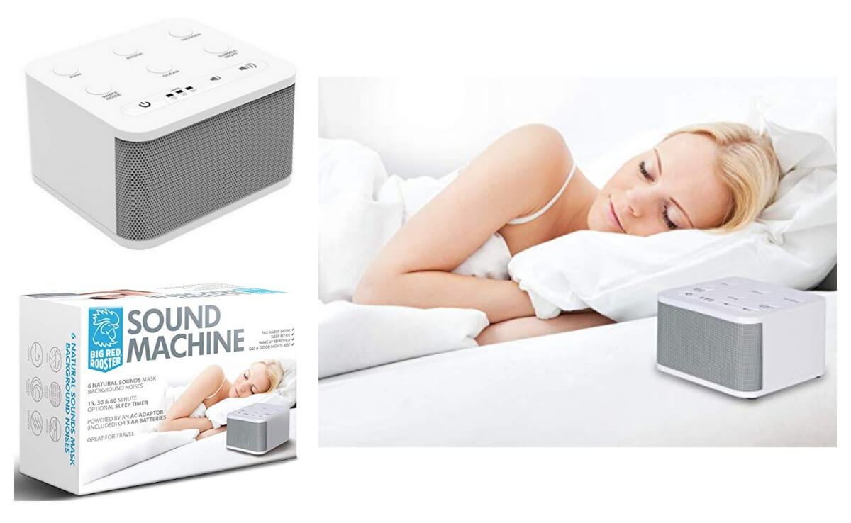 Big Red Rooster White Noise Machine Amazon Sale Coupon