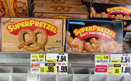 SuperPretzel Soft Pretzels Just $0.24 at ShopRite!{8/16-Ibotta Rebate}