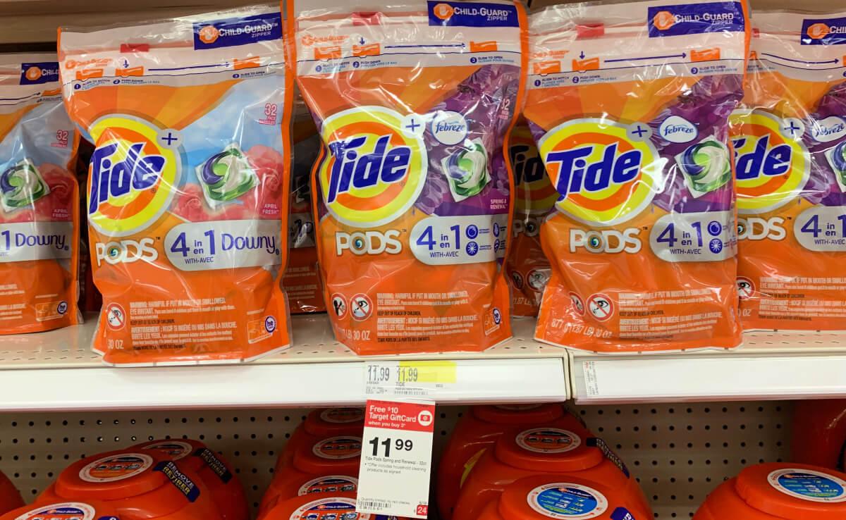 Target Shoppers Tide Pods Amp Liquid Laundry Detergent