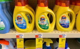 Tide Simply Liquid Laundry Detergent and Pods Only $1.94 at CVS!