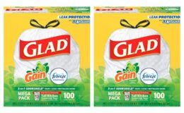 Stock Up Price for Select Prime Members on Glad Tall Kitchen Drawstring Trash Bags