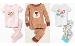Old Navy 2 Day Sale Toddler and Baby Sleepwear Just $5!