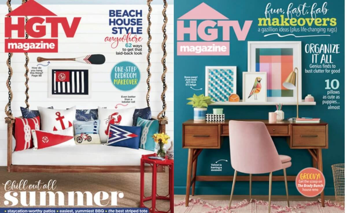 HGTV Magazine 1 Year Subscription for only $11 95 |Living