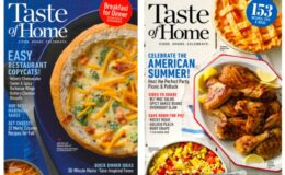 Taste of Home Magazine For Just $4.95 per Year!