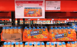 Costco: Hot Deal on Sunny D Tangy Original with Sports Cap - $0.26 each!!