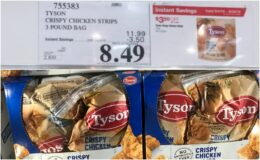 Costco: Hot Deal on Tyson Crispy Chicken Strips - $0.18 per oz!