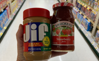 Jif Peanut Butter and Smucker's Fruit Spreads only $1.37 at Giant/Martin