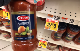 Barilla Pasta Sauce just $1.50 at Stop & Shop
