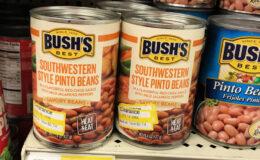 Bush's Savory Beans Only $0.49 at Target! {Rebate}