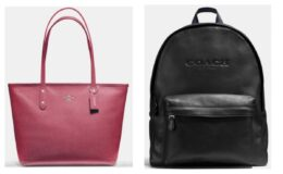 Clearance 71% off regular prices at Coach Outlet + Extra Discounts + FREE Shipping on ALL orders!