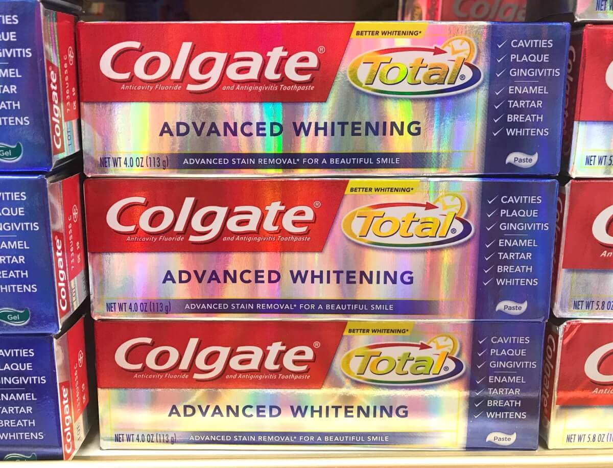 Save 5 On Colgate Products Up To 12 Free Colgate Total Advanced