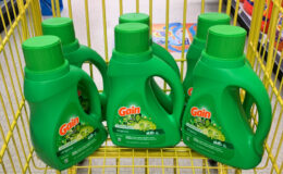 New $5/$25 Dollar General Coupon - Gain Liquid Detergent Just $0.41 + More! (9/21 Only!)