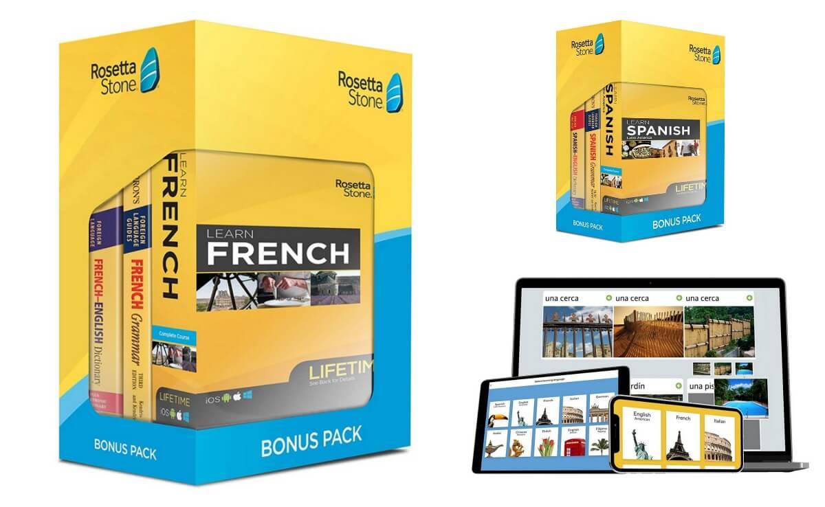 50% off Rosetta Stone Bonus Pack Bundle {Amazon}Living Rich