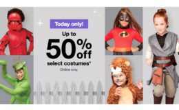 Up to 50% Off Halloween Costumes at Target Online Today Only